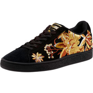 New Puma Suede Hyper Embroidered Sneakers